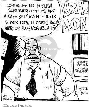 Comic Strip John Deering  Strange Brew 2010-02-25 stock market