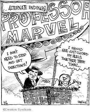 Comic Strip John Deering  Strange Brew 2010-03-06 alternate end