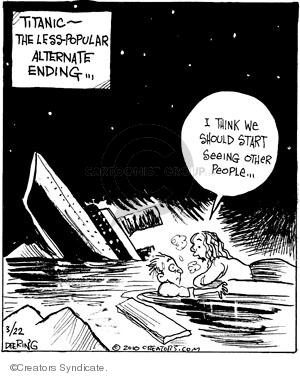 Comic Strip John Deering  Strange Brew 2010-03-22 less