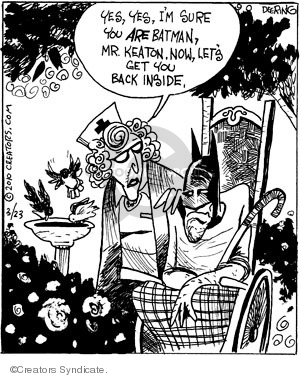 Cartoonist John Deering  Strange Brew 2010-03-23 Michael