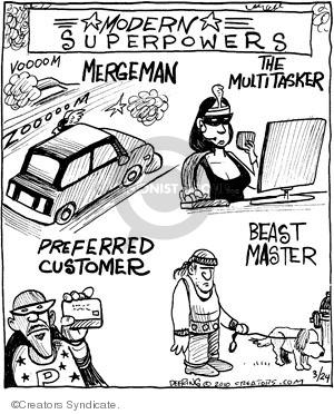 Cartoonist John Deering  Strange Brew 2010-03-24 highway