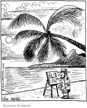 Cartoonist John Deering  Strange Brew 2010-03-26 inspiration