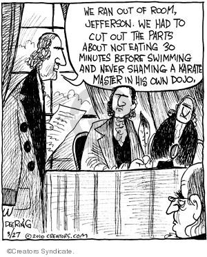 Cartoonist John Deering  Strange Brew 2010-03-27 Constitution