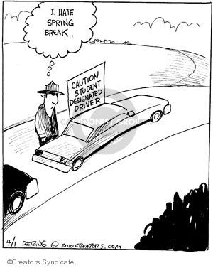 Comic Strip John Deering  Strange Brew 2010-04-01 student driver