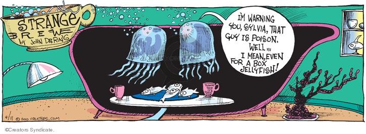 Comic Strip John Deering  Strange Brew 2010-04-11 poison