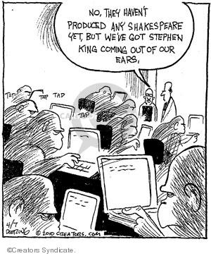 Comic Strip John Deering  Strange Brew 2010-04-07 creative writing