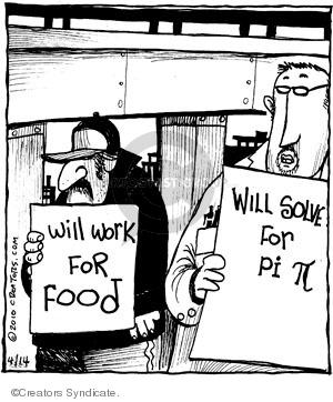 Cartoonist John Deering  Strange Brew 2010-04-14 unemployment