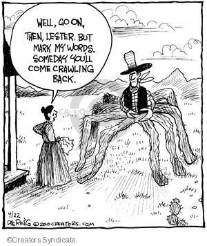 Comic Strip John Deering  Strange Brew 2010-04-22 crawl