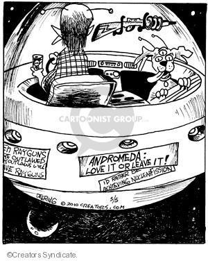Cartoonist John Deering  Strange Brew 2010-05-05 party