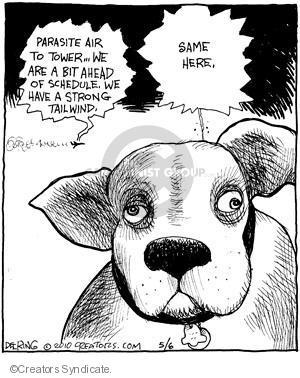 Comic Strip John Deering  Strange Brew 2010-05-06 travel