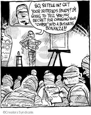 Comic Strip John Deering  Strange Brew 2010-05-10 curse