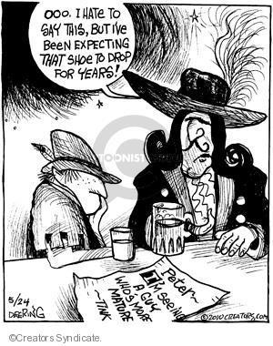 Cartoonist John Deering  Strange Brew 2010-05-24 classic literature