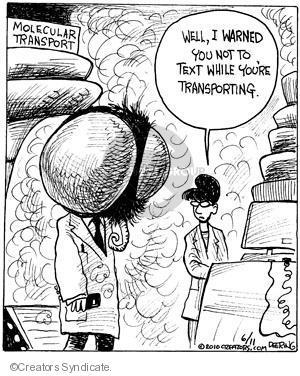 Cartoonist John Deering  Strange Brew 2010-06-11 transport