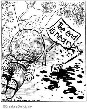 Comic Strip John Deering  Strange Brew 2010-06-12 prophetic
