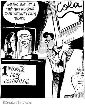 Comic Strip John Deering  Strange Brew 2010-06-18 clothing