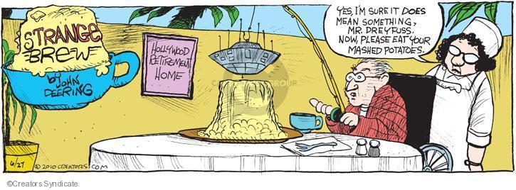 Comic Strip John Deering  Strange Brew 2010-06-27 classics