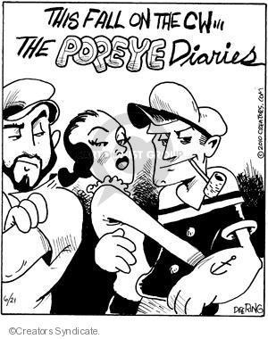 Comic Strip John Deering  Strange Brew 2010-06-21 classics