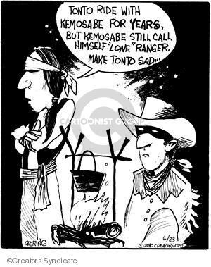 Comic Strip John Deering  Strange Brew 2010-06-23 friendship