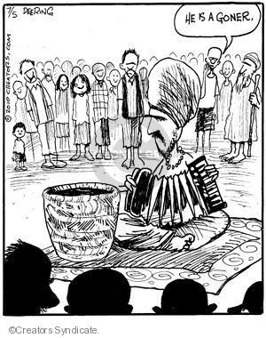 Comic Strip John Deering  Strange Brew 2010-07-05 musical