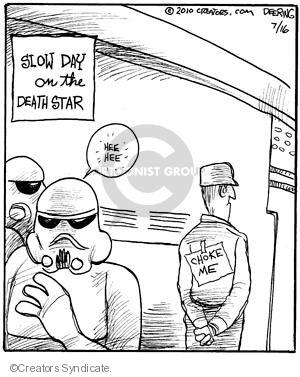 Comic Strip John Deering  Strange Brew 2010-07-16 classics
