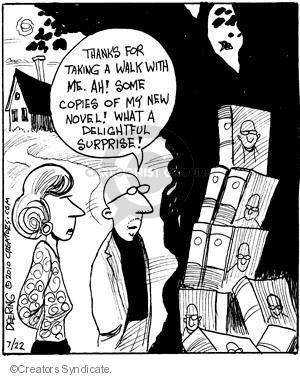 Comic Strip John Deering  Strange Brew 2010-07-22 surprise