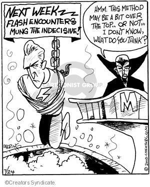 Cartoonist John Deering  Strange Brew 2010-07-24 television cartoon