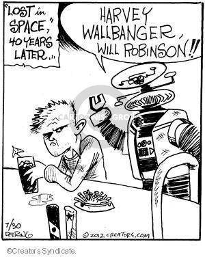 Cartoonist John Deering  Strange Brew 2010-07-30 television cartoon