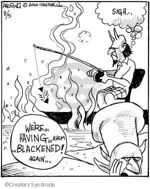 Comic Strip John Deering  Strange Brew 2010-08-05 Lucifer