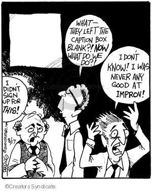 Comic Strip John Deering  Strange Brew 2010-08-17 topic