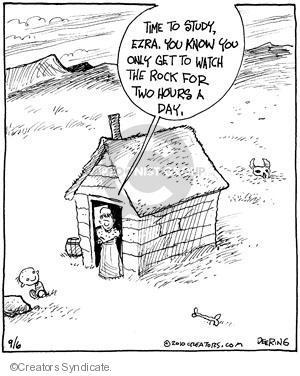Cartoonist John Deering  Strange Brew 2010-09-06 television cartoon