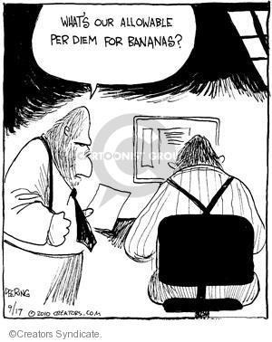 Comic Strip John Deering  Strange Brew 2010-09-17 monkey