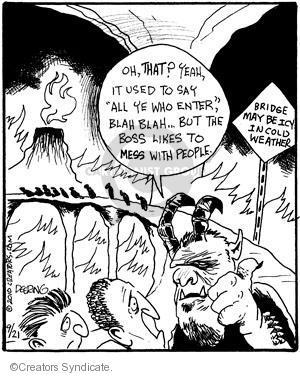 Cartoonist John Deering  Strange Brew 2010-09-21 use