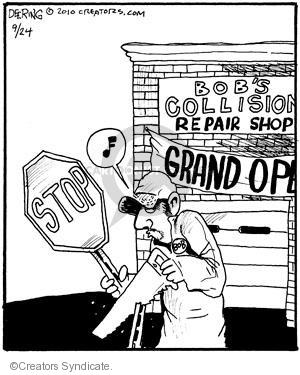 Comic Strip John Deering  Strange Brew 2010-09-24 Bob