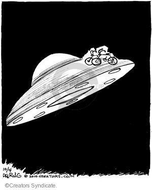 Cartoonist John Deering  Strange Brew 2010-10-04 transport