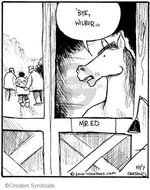 Cartoonist John Deering  Strange Brew 2010-10-07 television cartoon