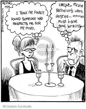 Cartoonist John Deering  Strange Brew 2010-10-12 education