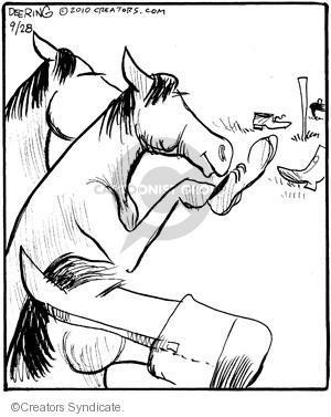 Comic Strip John Deering  Strange Brew 2010-09-28 outdoors