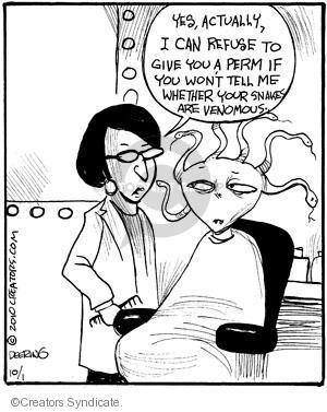 Comic Strip John Deering  Strange Brew 2010-10-01 poison