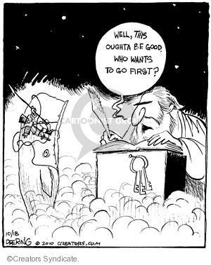 Cartoonist John Deering  Strange Brew 2010-10-18 Dick