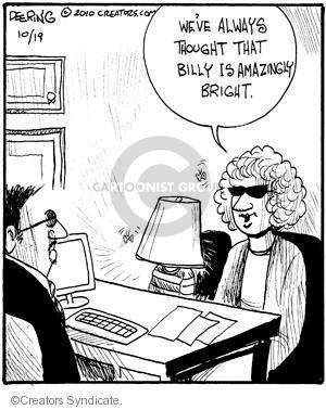 Comic Strip John Deering  Strange Brew 2010-10-19 glow