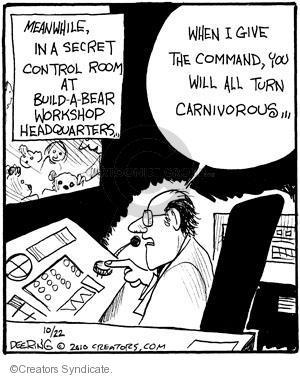 Comic Strip John Deering  Strange Brew 2010-10-22 bear attack