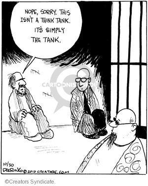 Comic Strip John Deering  Strange Brew 2010-10-30 justice
