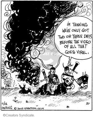 Comic Strip John Deering  Strange Brew 2010-11-12 internet video