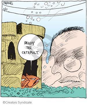 Comic Strip John Deering  Strange Brew 2010-11-17 fish