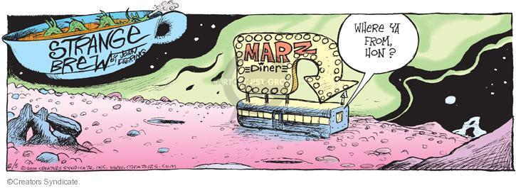 Comic Strip John Deering  Strange Brew 2010-12-05 travel