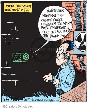 Comic Strip John Deering  Strange Brew 2010-12-07 Bob