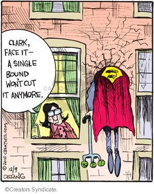 Cartoonist John Deering  Strange Brew 2010-12-09 television cartoon