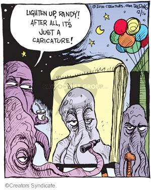 Comic Strip John Deering  Strange Brew 2010-12-16 improvement