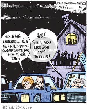 Comic Strip John Deering  Strange Brew 2011-01-01 topic
