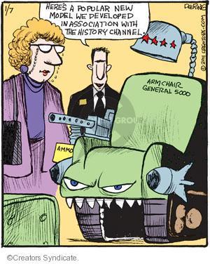 Comic Strip John Deering  Strange Brew 2011-01-07 armchair
